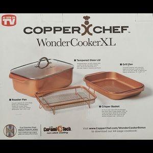 COPPER CHEF WONDERCOOKER XL